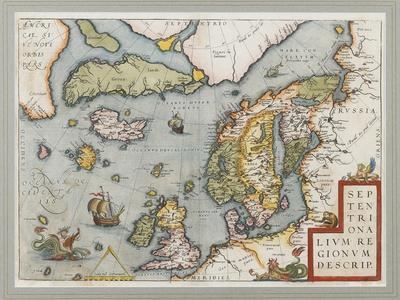 Septentrionalium Regionum Descrip. (The Arctic. Scandinavia), 1572-1575