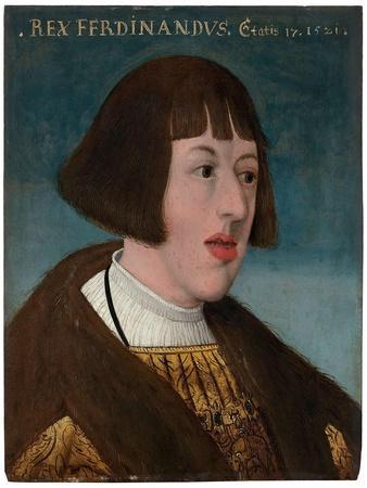 Portrait of Emperor Ferdinand I (1503-1564), 1521