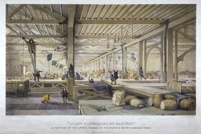 'Goods forwarded by railway', 19th century