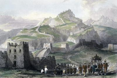 'The Great Wall of China', 1843