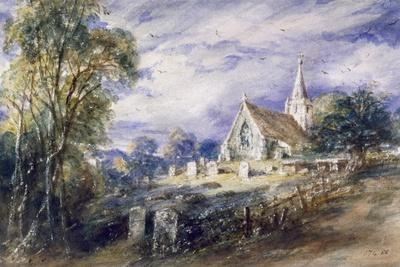 'Stoke Poges Church', Buckinghamshire, 1833
