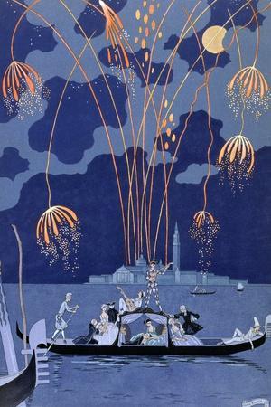 'Fireworks in Venice', 1924