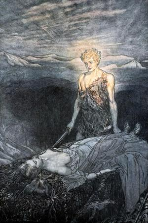 Illustration from Siegfried and the Twilight of the Gods, 1924