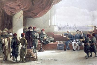 Interview with the Viceroy of Egypt at his palace, Alexandria, Egypt, May 12th 1839, (19th century)