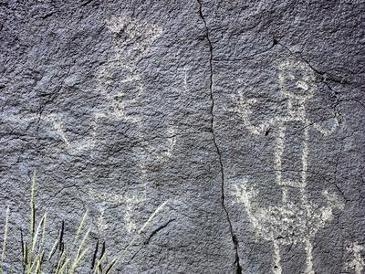 The Rio Grande petroglyphs, Native American, New Mexico, USA