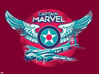 Captain Marvel - Emblem