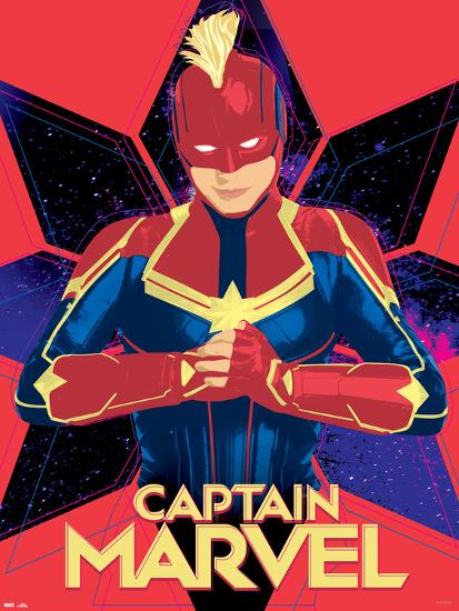 Captain Marvel Pop Art Posters At Allposters Com