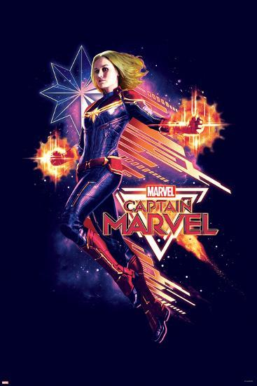 Captain Marvel Flight Poster At Allposters Com