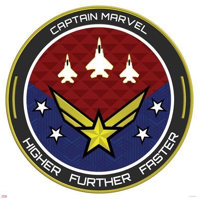 Captain Marvel - Badge