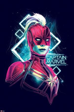 Captain Marvel - Electro Waves