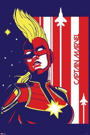 Captain Marvel - Mohawk
