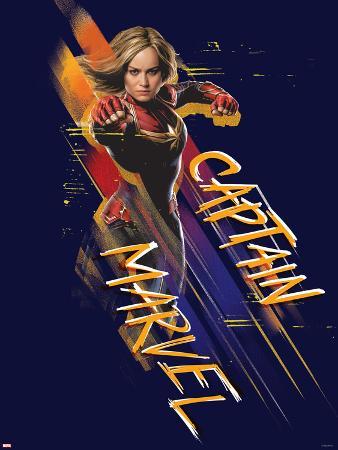Captain Marvel - Punch
