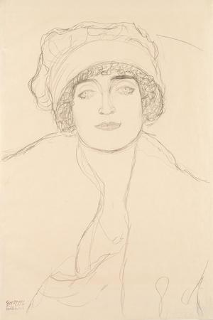 Portrait in a Hat, 1917-118