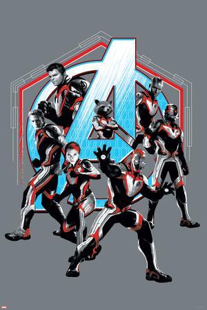 Avengers: Endgame - The Avengers (Gray)