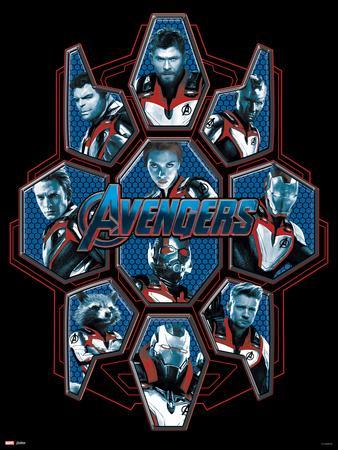 Avengers: Endgame - Blue Shield