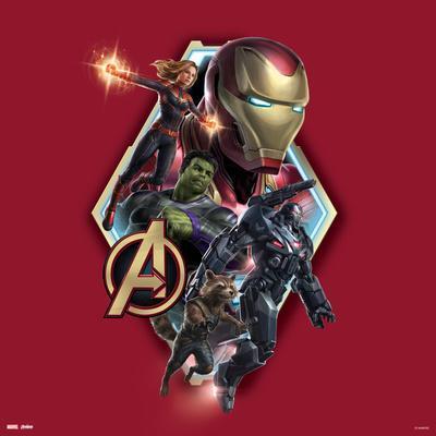 Avengers: Endgame - The Avengers (Red)