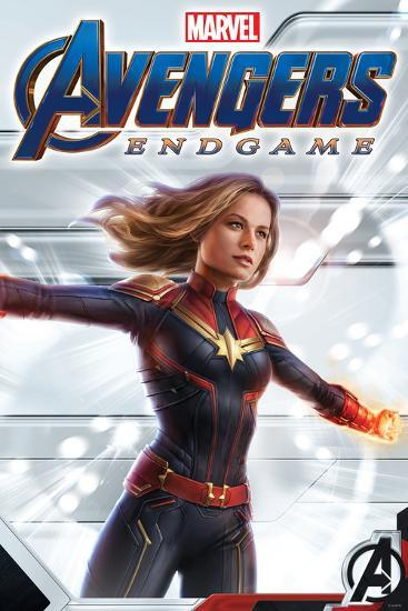 Avengers Endgame Captain Marvel Posters At Allposters Com