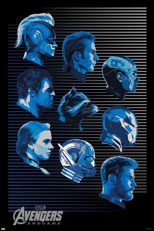 Avengers: Endgame - Character Profiles (Blue)