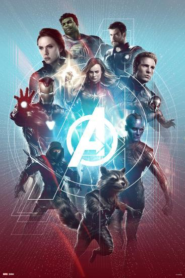 Avengers Endgame One Team Posters At Allposters Com