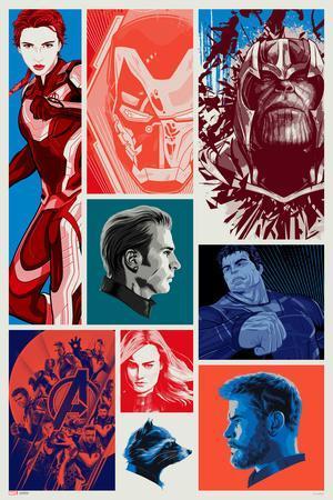 Avengers: Endgame - Character Blocks