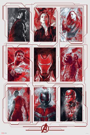 Avengers: Endgame - Tech Portraits