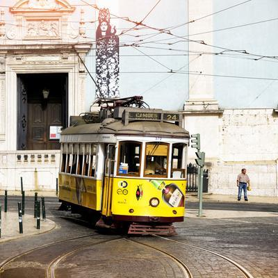 Welcome to Portugal Square Collection - Camoes 24 Lisbon Tramway