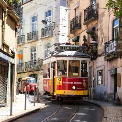 Welcome to Portugal Square Collection - Prazeres 28 Lisbon Tram