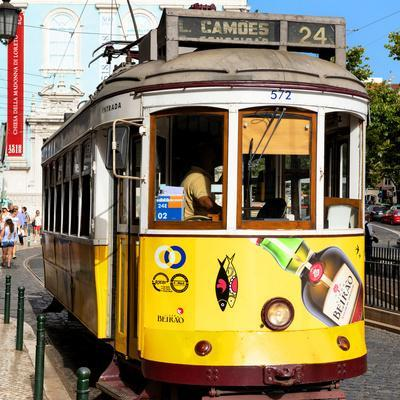 Welcome to Portugal Square Collection - Camoes 24 Lisbon Tramway III