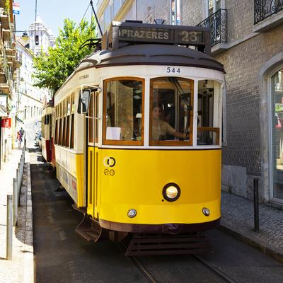 Welcome to Portugal Square Collection - Lisbon Tram 28