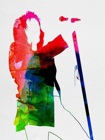 Rod Stewart Watercolor