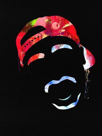 Tupac Watercolor