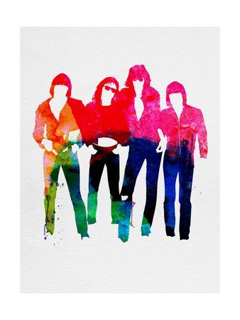 Ramones Watercolor