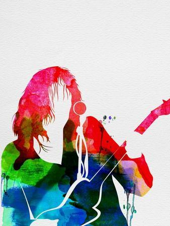 Neil Young Watercolor