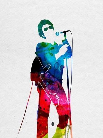 Lou Reed Watercolor