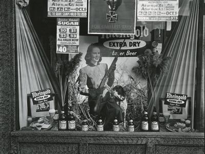 Storefront Display, New York, c. 1945