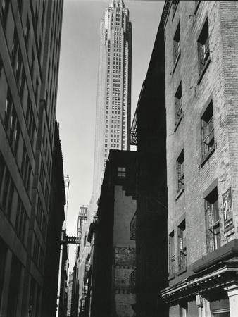 Buildings, New York, c. 1945
