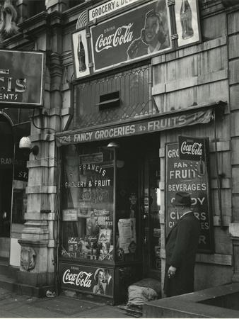 St. Francis Grocery, New York, 1943