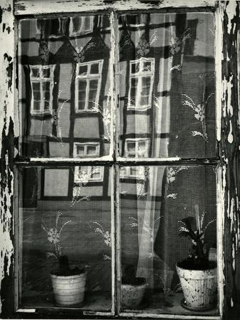 Window with Reflection, Europe, 1972