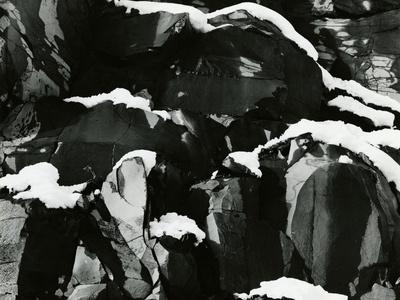 Rock and Snow, Oregon, 1968