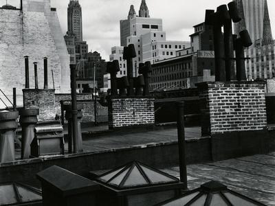 Rooftops, New York, 1943