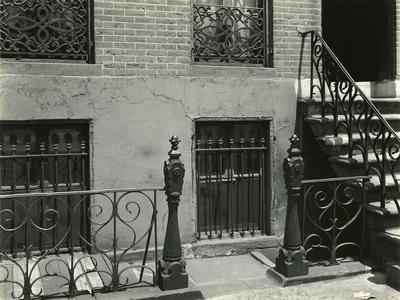 Building and Stairs, New York, 1945