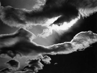 Clouds, Owens Valley, 1967
