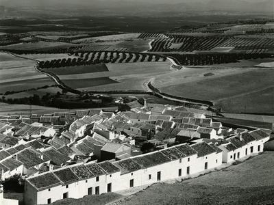 Village Scene, Spain, 1960
