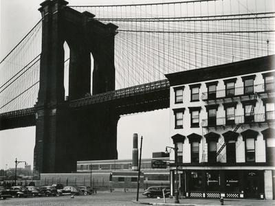 Brooklyn Bridge, New York, 1946
