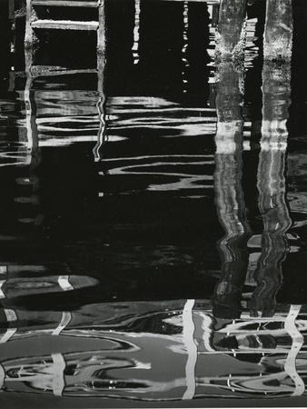 Dock and Water, Reflections, 1971
