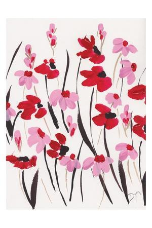 Pink and Red Field I