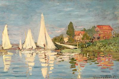 Regatta at Argenteuil, C.1872