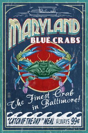 Baltimore, Maryland - Blue Crabs