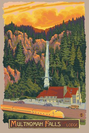 Multnomah Falls Lodge, Oregon