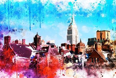 NYC Watercolor Collection - On the Roofs